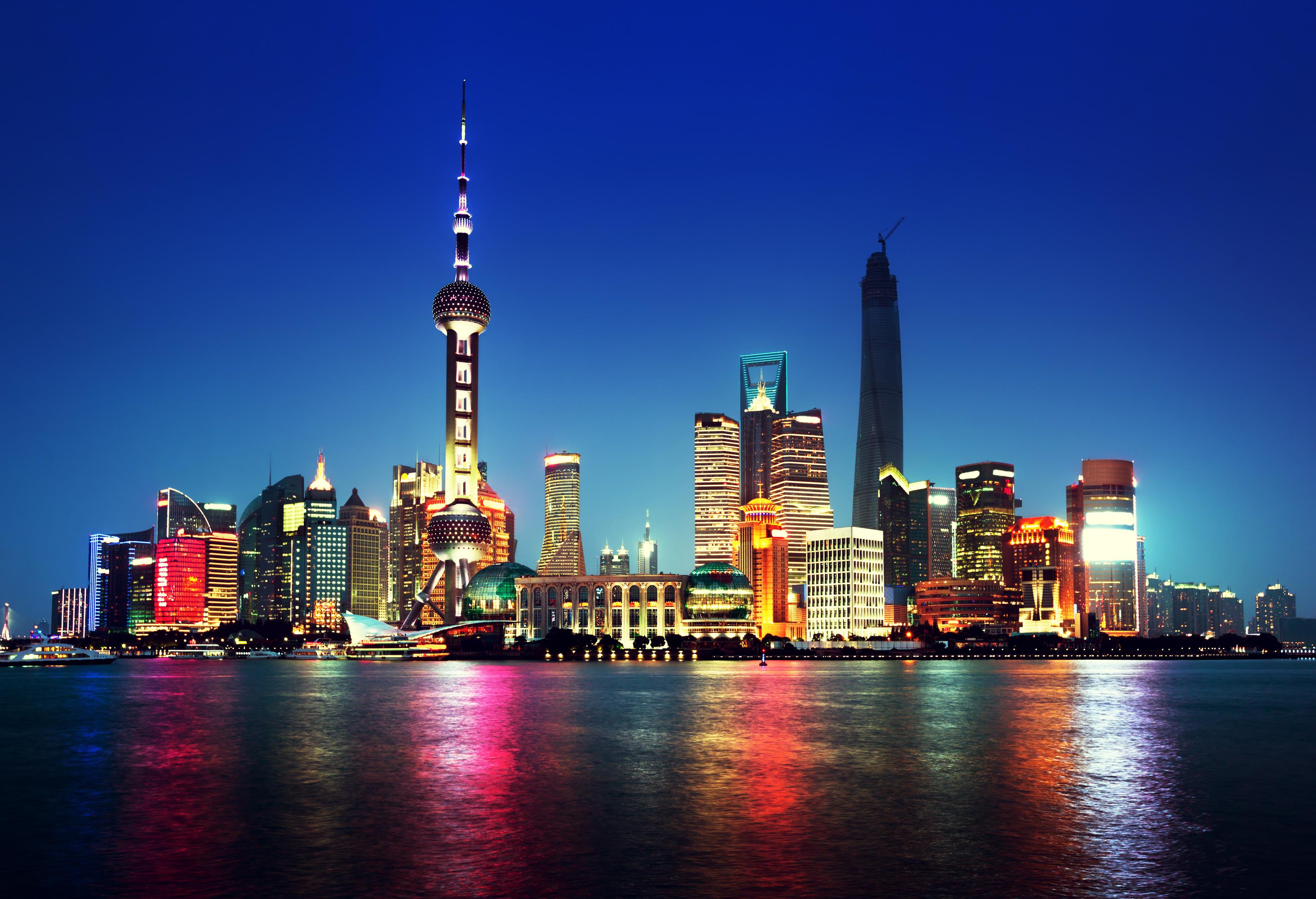 Drug Development Market Access Covance Shanghai at night, China
