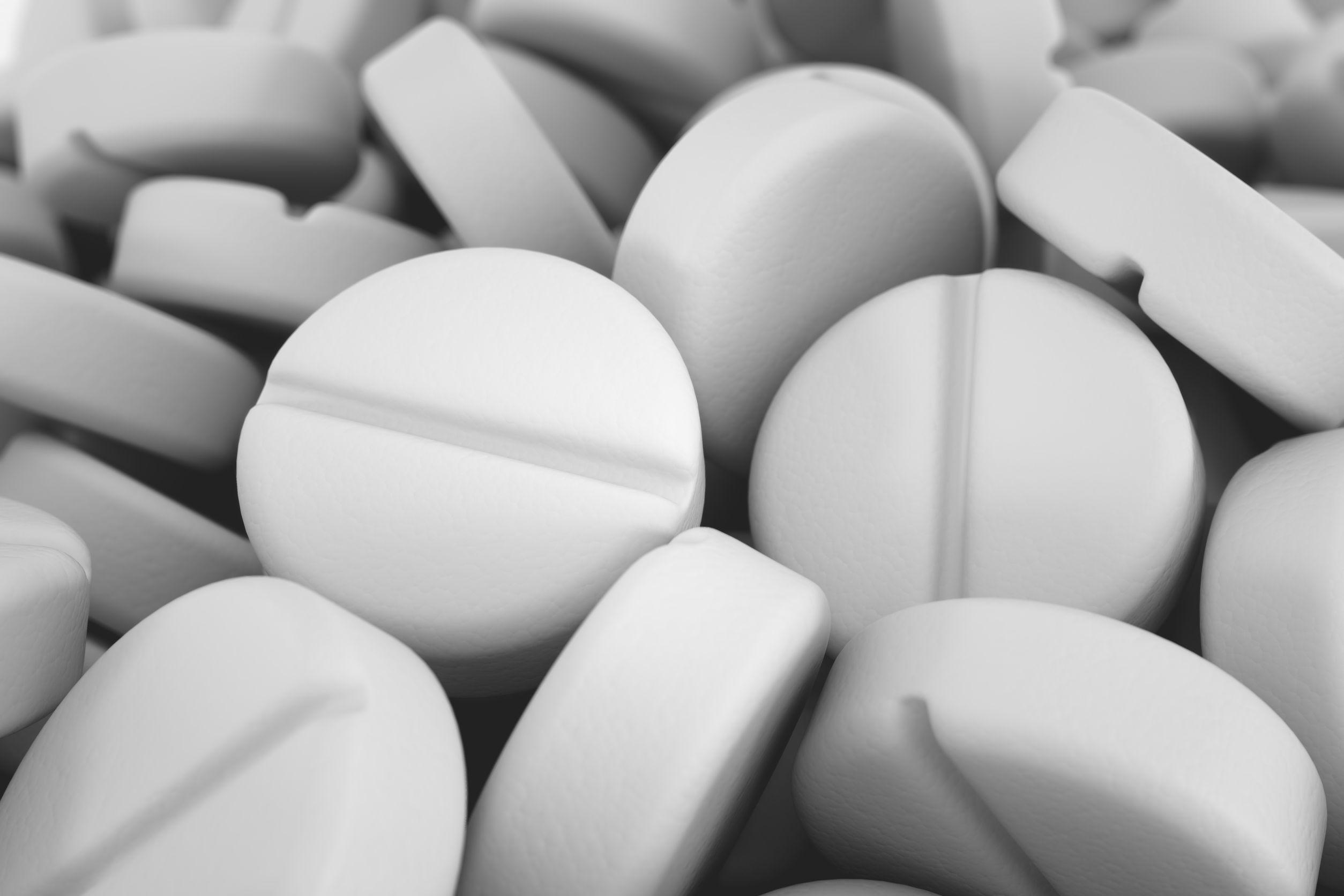 White Pills Drug Abuse