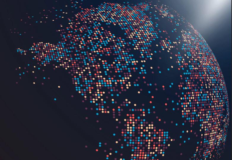 Image of Futuristic Globe
