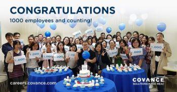 Image of Covance Employees Celebrating
