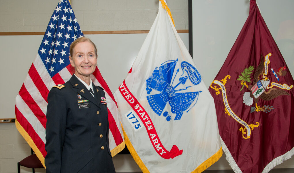 LTC Erica E. Carroll's Retirement Ceremony