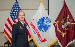 LTC Erica E. Carroll's Retirement Ceremony